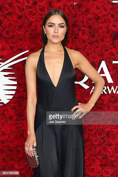 Olivia Culpo attends the Qatar Airways Los Angeles Gala at Dolby Theatre on January 12 2016 in Hollywood California