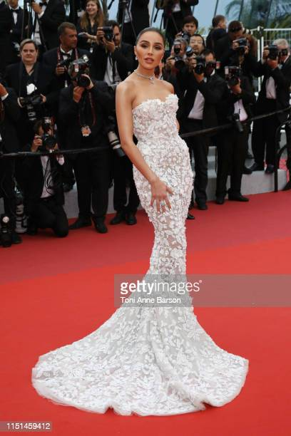 Olivia Culpo attends the screening of Sibyl during the 72nd annual Cannes Film Festival on May 24 2019 in Cannes France