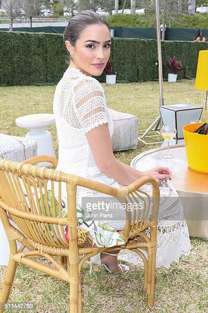 Olivia Culpo attends the SecondAnnual Clicquot Carnaval in Miami at Museum Park on February 20 2016 in Miami Florida