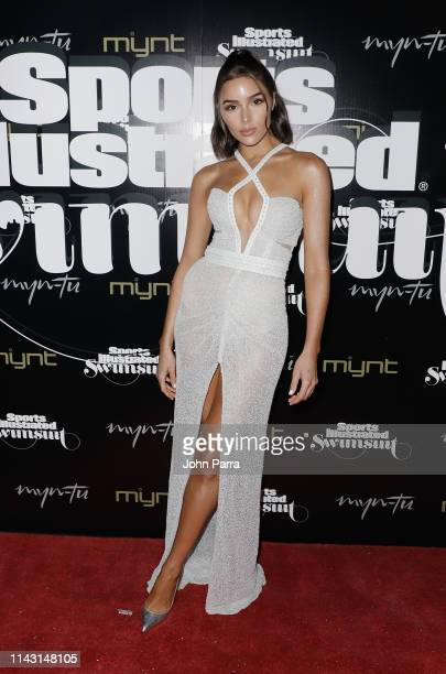 Olivia Culpo attends the Sports Illustrated Swimsuit Celebrates 2019 Issue Launch at MynTu on May 11 2019 in Miami Florida
