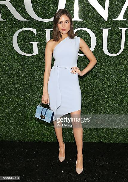 Olivia Culpo attends The Stronach Group Owner's Chalet at 141st The Preakness at Pimlico Race Course on May 21 2016 in Baltimore Maryland