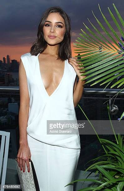 Olivia Culpo attends the Vanity Fair And GUESS Summer Soiree held at Jimmy At The James Hotel on June 9 2015 in New York City