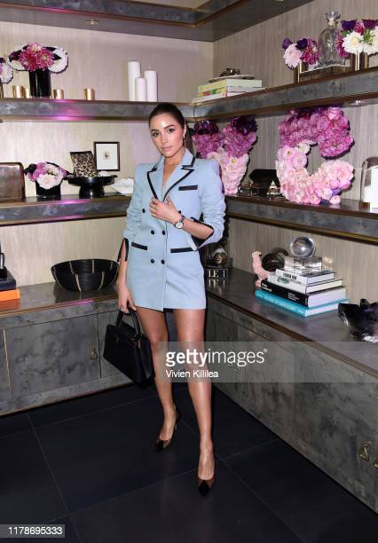Olivia Culpo attends Vince Camuto's Sunset Soiree on October 02 2019 in Los Angeles California