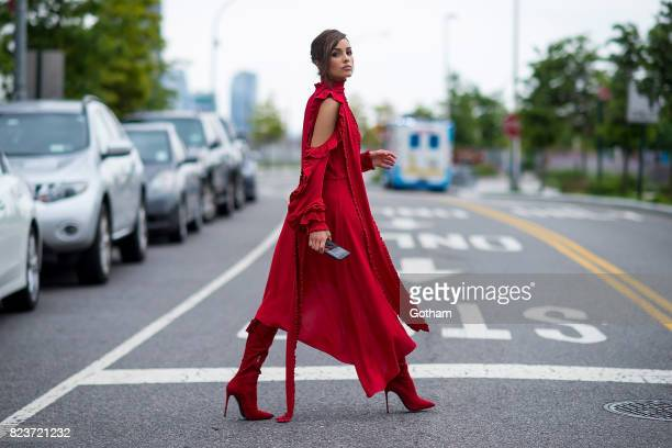 Olivia Culpo is seen in Long Island City on July 27 2017 in New York City