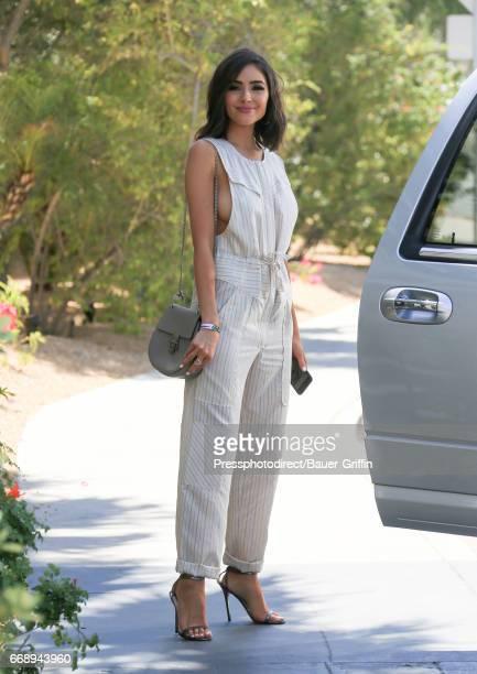 Olivia Culpo is seen on April 15 2017 in Indio California