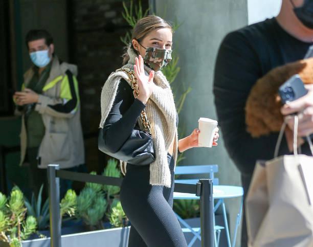 CA: Celebrity Sightings In Los Angeles - April 28, 2021