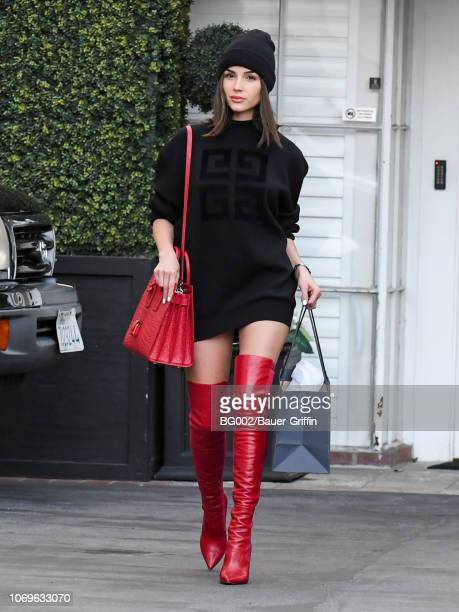 Olivia Culpo is seen on December 07 2018 in Los Angeles California
