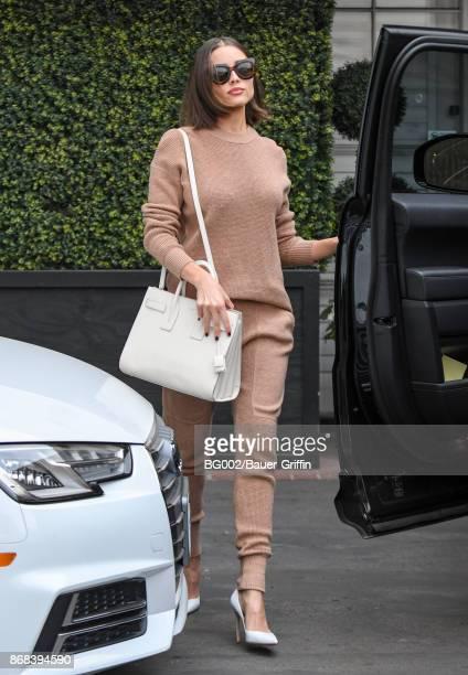 Olivia Culpo is seen on October 30 2017 in Los Angeles California