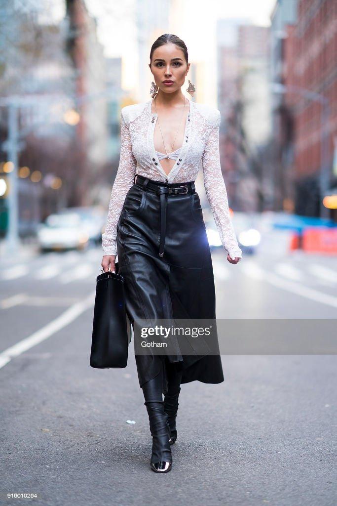 Street Style - New York City - February 2018