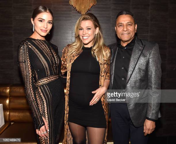 Olivia Culpo welcomed guests to the JBL Platinum Party including Rachel Platten and Dinesh Paliwal during the 2nd annual JBL Fest an exclusive...
