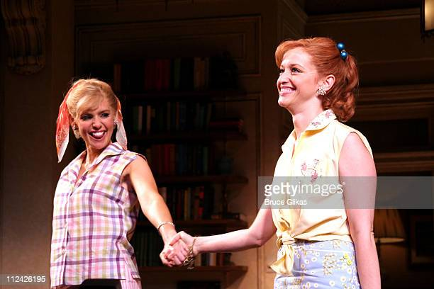 Olivia d'Abo and Jessica Stone take their Curtain Call