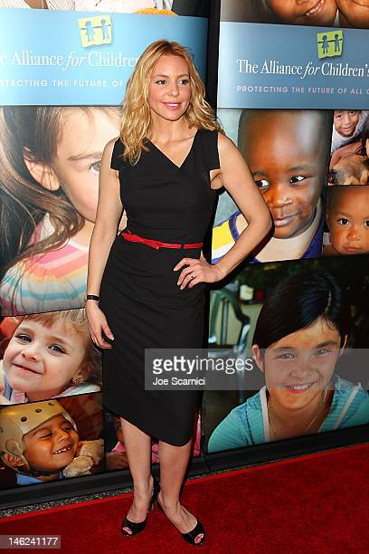 Olivia d'Abo arrives at the Alliance For Children's Rights 3rd annual celebrity Right To Laugh event at Avalon on June 12 2012 in Hollywood California