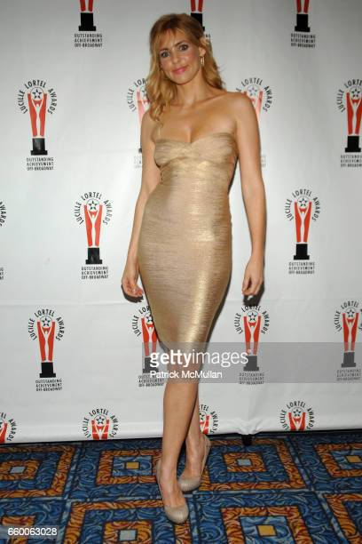 Olivia d'Abo attends 2009 LUCILLE LORTEL AWARDS at The Marriot Marquis on May 3 2009 in New York City