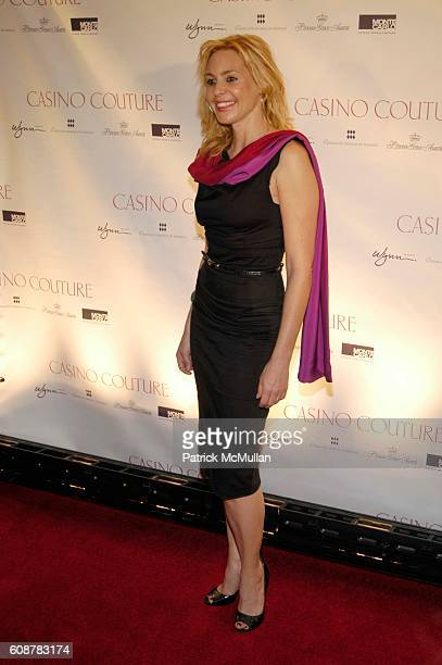 Olivia D'Abo attends Casino Couture in conjunction with Manhattan House Designer Showcase Debut at Sotheby's on October 24 2007 in New York City