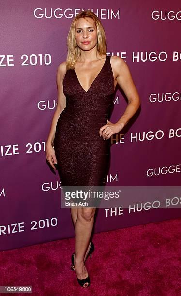 Olivia D'Abo attends the Hugo Boss Prize 2010 at the Solomon R Guggenheim Museum on November 4 2010 in New York City