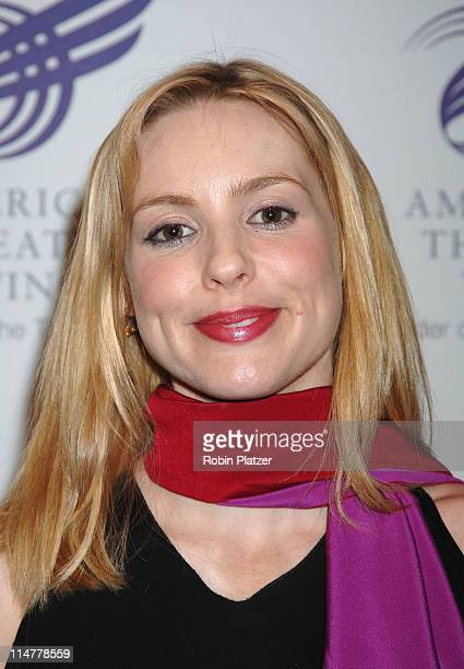 Olivia D'Abo during American Theatre Wing Spring Gala Honoring Matthew Broderick and Nathan Lane April 10 2006 at Ciprianis 42nd Street in New York...