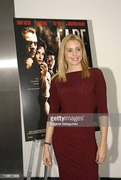 """Olivia D'Abo during """"Fade to Black"""" New York City Screening at The Museum of Modern Art in New York City, New York, United States."""
