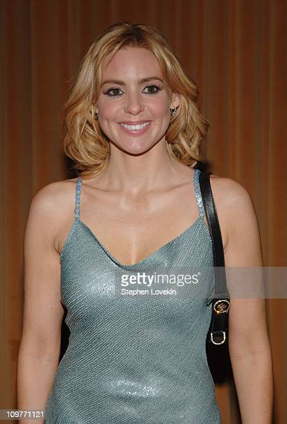 """Olivia d'Abo during Neil Simon's """"The Odd Couple"""" Broadway Opening Night - After Party at Marriott Marquis in New York City, New York, United States."""