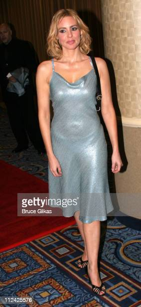 """Olivia d'Abo during Neil Simon's """"The Odd Couple"""" Broadway Opening Night at The Marriott Marquis Ballroom in New York City, New York, United States."""