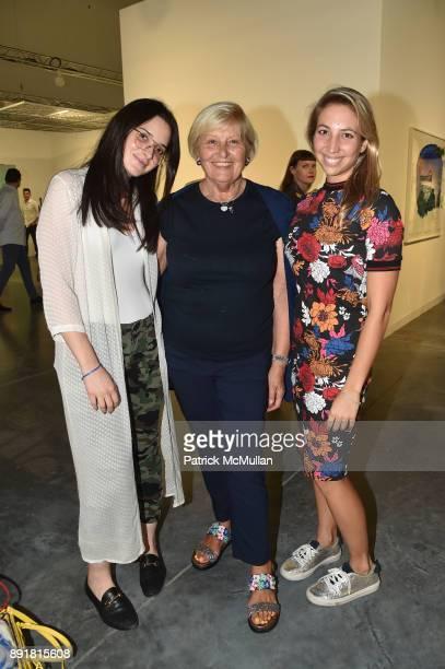 Olivia Davis Neda Young and Vanessa Fuchs attend Art Basel Miami Beach Private Day at Miami Beach Convention Center on December 6 2017 in Miami Beach...