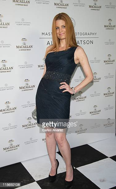 """Olivia de Borbon attends """"Master of Photography"""" exhibition at Galileo Theater on June 8, 2011 in Madrid, Spain."""
