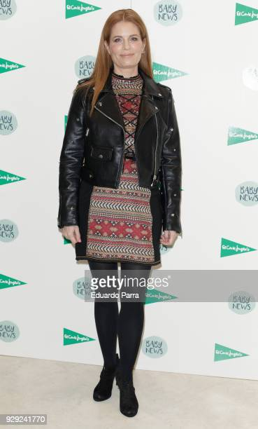 Olivia de Borbon attends the 'Baby News' photocall at El Corte Ingles store on March 8 2018 in Madrid Spain