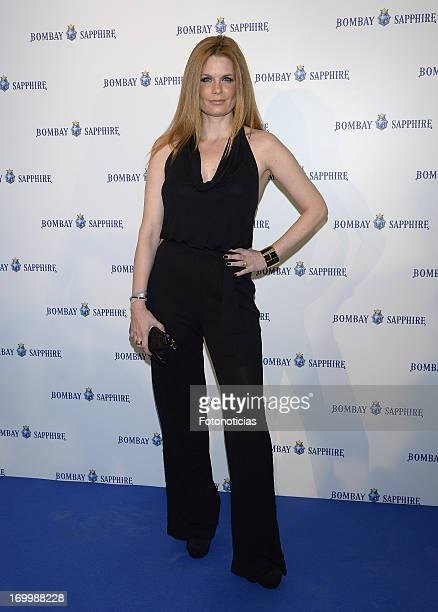 Olivia de Borbon attends the launch of Bombay Sapphire 'On Board' at the Palacio de Cibeles on June 5 2013 in Madrid Spain
