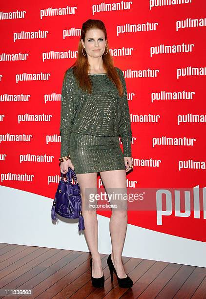 Olivia de Borbon attends the launch of 'Viajes Ocio Placer' Pullmantur's Magazine at Oui on March 31 2011 in Madrid Spain