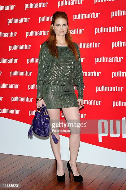 Olivia de Brobon attends the launch of 'Viajes Ocio Placer' Pullmantur's Magazine at Oui on March 31 2011 in Madrid Spain