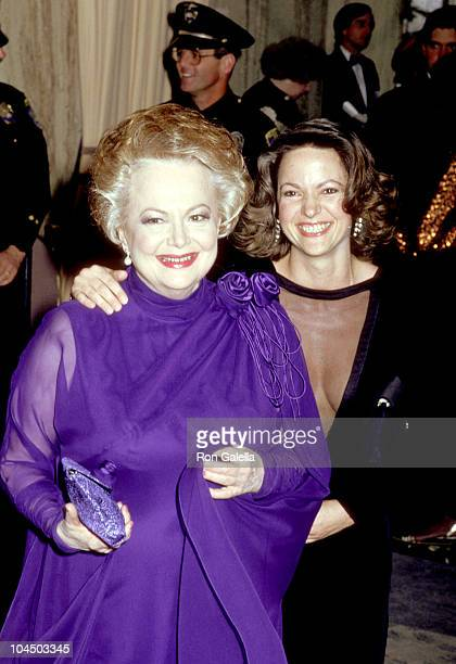Olivia de Havilland and daughter Gisele Galante
