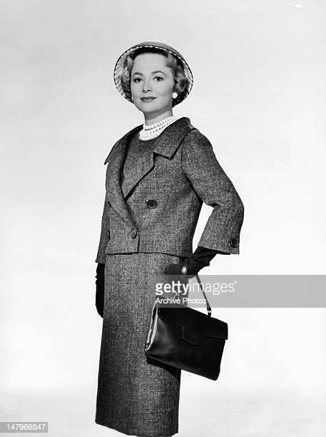 Olivia de Havilland publicity portrait for the film 'Libel', 1959.