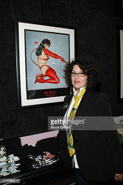Olivia DeBerardinis during Bettie Page Meet and Greet at Bettie Page in Las Vegas Nevada United States