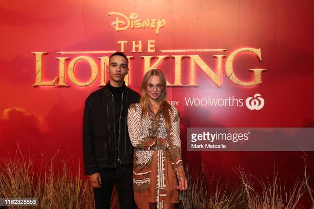 Olivia Deeble attends The Lion King Sydney special event screening at Hoyts Entertainment Quarter on July 16 2019 in Sydney Australia