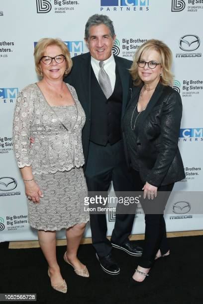 Olivia DiazLapham Brad Turell and Laura Lizer attend Big Brothers Big Sisters Of Greater Los Angeles Big Bash Gala arrivals at The Beverly Hilton...