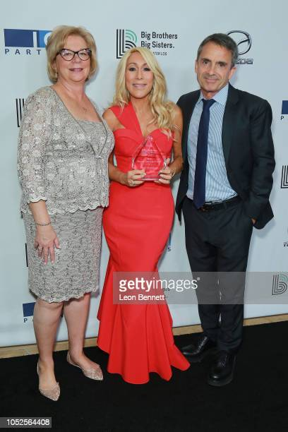 Olivia DiazLapham Lori Greiner and Stephen Galloway attend Big Brothers Big Sisters Of Greater Los Angeles Big Bash Gala arrivals at The Beverly...
