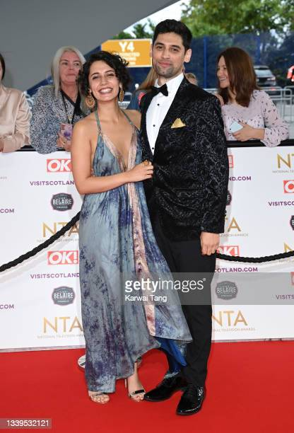 Olivia D'Lima attends the National Television Awards 2021 at The O2 Arena on September 09, 2021 in London, England.
