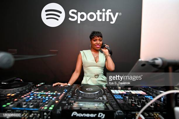 Olivia Dope performs at the Spotify Celebrates Black History Is Now Pop-Up on February 28, 2020 in New York City.