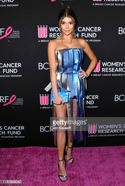 Olivia Giannulli attends The Women's Cancer Research Fund's An Unforgettable Evening Benefit Gala at the Beverly Wilshire Four Seasons Hotel on...