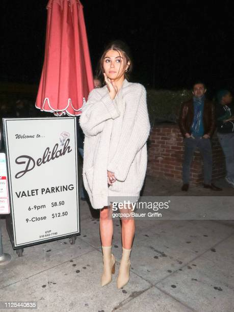 Olivia Giannulli is seen on February 17 2019 in Los Angeles California