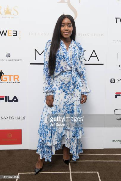 Olivia Gold attends the inaugural International Fashion Show at Rosewood Hotel on May 25 2018 in London England