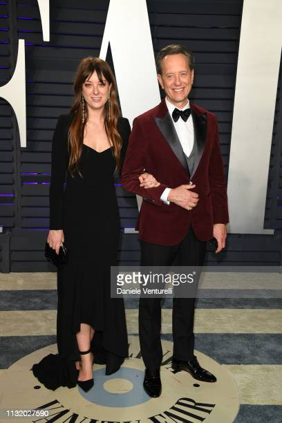 Olivia Grant and Richard E Grant attend 2019 Vanity Fair Oscar Party Hosted By Radhika Jones at Wallis Annenberg Center for the Performing Arts on...
