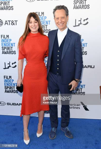 Olivia Grant and Richard E Grant attend the 2019 Film Independent Spirit Awards on February 23 2019 in Santa Monica California
