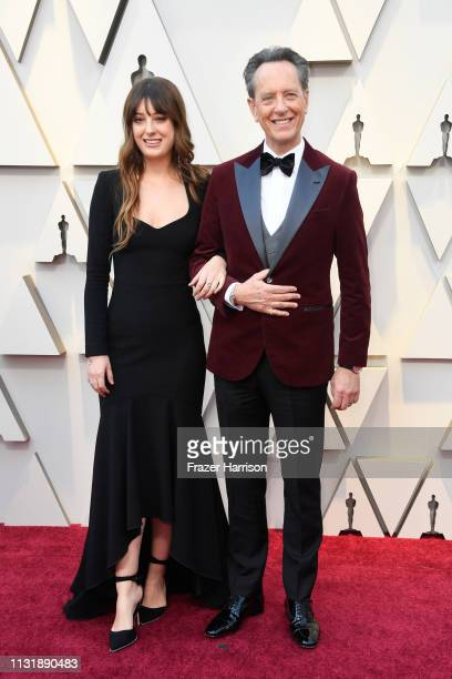 Olivia Grant and Richard E Grant attend the 91st Annual Academy Awards at Hollywood and Highland on February 24 2019 in Hollywood California