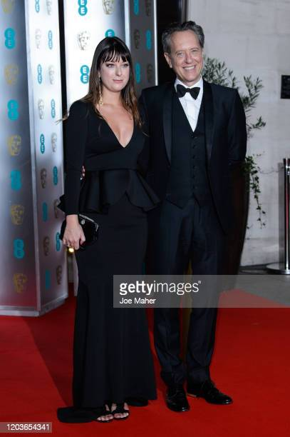 Olivia Grant and Richard E Grant attend the EE British Academy Film Awards 2020 After Party at The Grosvenor House Hotel on February 02 2020 in...