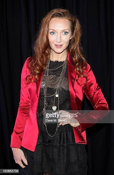 Olivia Grant attends a party celebrating the launch of 28 Club a new night club in the basement of Morton's Private Member's Club in Berkeley Square...