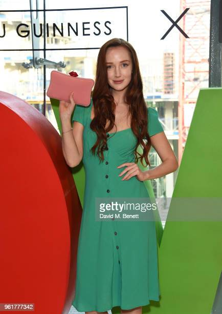 Olivia Grant attends Lulu Guinness x Kodak Party on May 23 2018 in London England