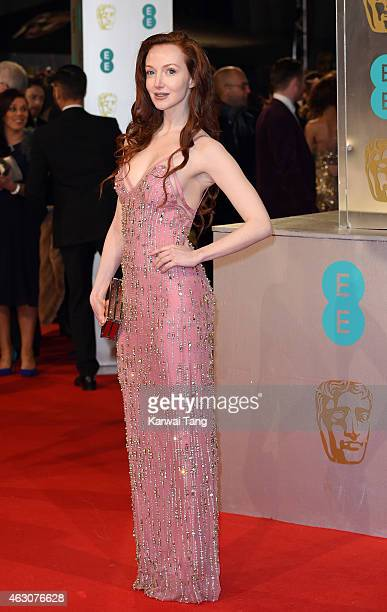 Olivia Grant attends the EE British Academy Film Awards at The Royal Opera House on February 8 2015 in London England