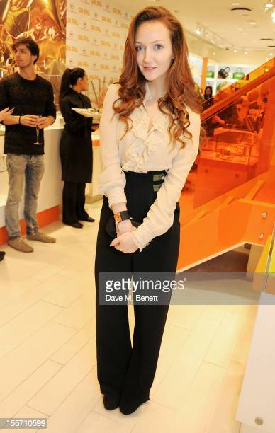 Olivia Grant attends the Folli Follie and Kids Company Collection launch hosted by Erin O'Connor at the Folli Follie New Bond Street boutique on...