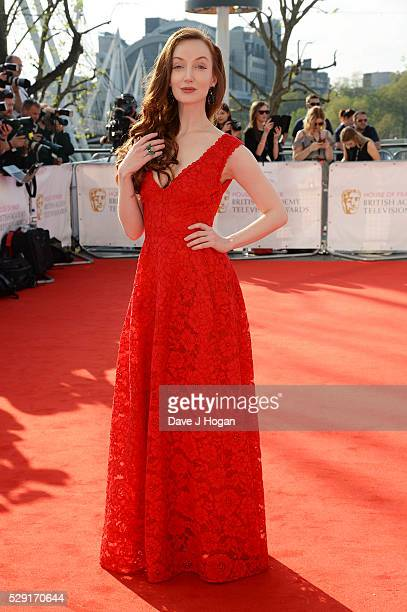 Olivia Grant attends the House Of Fraser British Academy Television Awards 2016 at the Royal Festival Hall on May 8 2016 in London England
