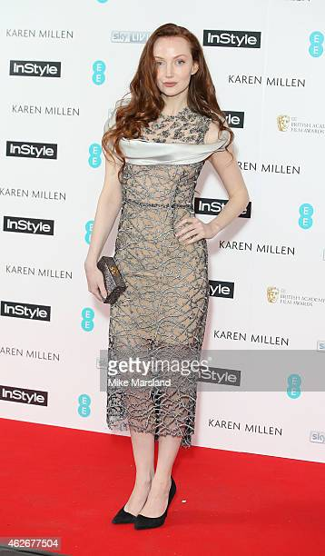Olivia Grant attends the InStyle The Best of British Talent PreBAFTA party at The Ace Hotel on February 2 2015 in London England
